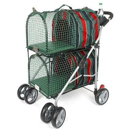 Kittywalk Double Decker Dog Pet Stroller - KWPSDD100